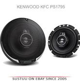 "NEW Kenwood KFC PS1795 17CM 6.5"" 660 Watts Door 3-Way Car Stereo Speakers"