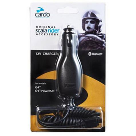 Cardo Scala Rider 12V Car Lighter Adaptor Charger G4 G9 G9x Q3 Q1 Qz PACKTALK Thumbnail 2