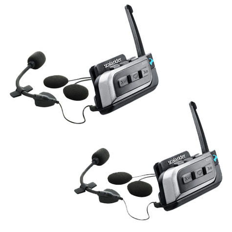 Cardo Scala Rider G9X Powerset | Motorcycle / Bike Bluetooth Intercom | Waterproof  Thumbnail 2