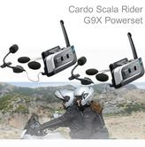 Cardo Scala Rider G9X Powerset | Motorcycle / Bike Bluetooth Intercom | Waterproof