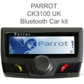 Parrot CK3100 Bluetooth Handsfree Car Kit | For Universal Mobile Phones | LCD Screen