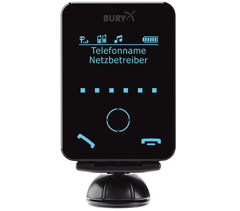 Bury CC9058 Mono Touchscreen Bluetooth Handsfree Car Kit | A2DP Audio Sreaming | NEW Thumbnail 3