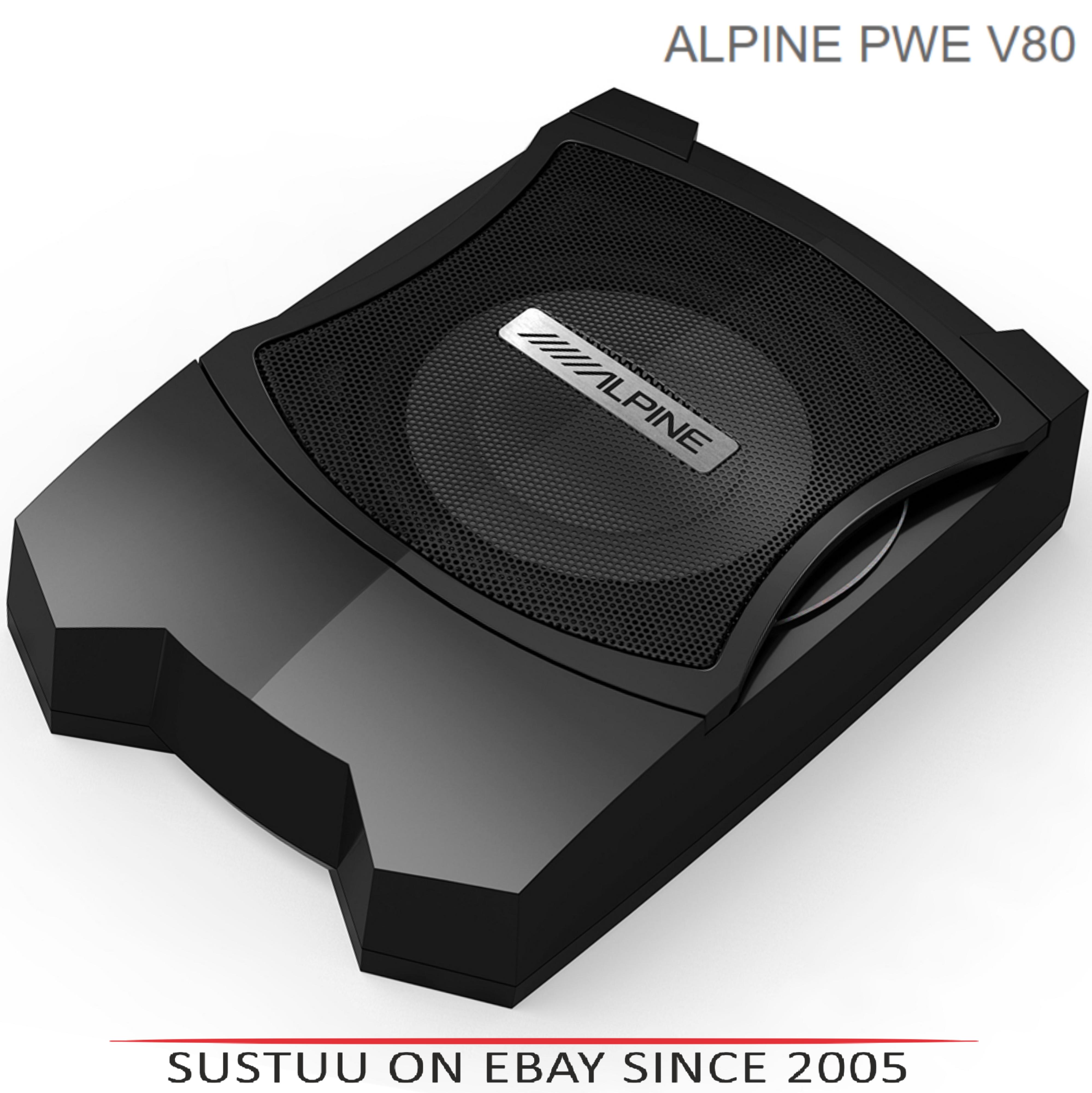 ALPINE PWE V80 In car Sound Vehicle Audio Speaker Subwoofer