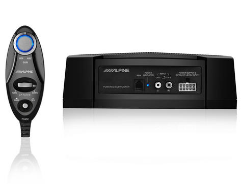 ALPINE PWE V80 In car Sound Vehicle Audio Speaker Subwoofer Thumbnail 3