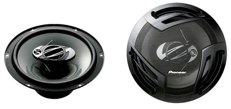 Pioneer TS-A2503i|In Car 3-way Coaxial Speakers|Door-Shelf|Impedance 4?|25cm|420W Thumbnail 3