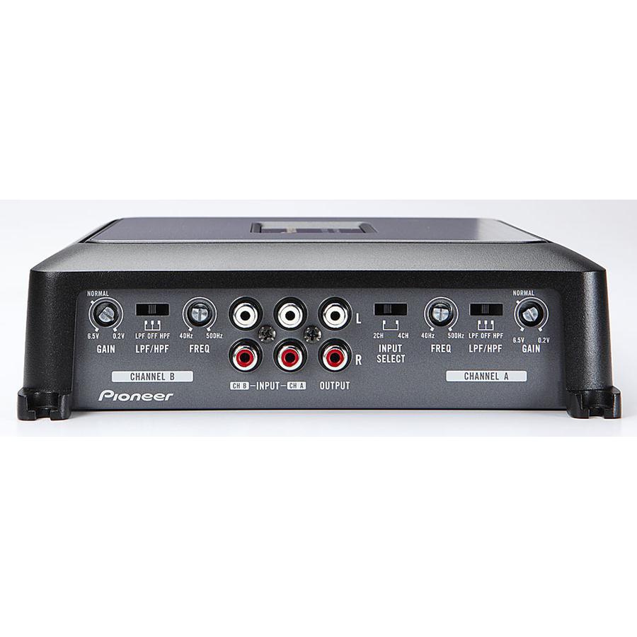 pioneer gm d8604. pioneer gm d8604 1200w 4 channel class-d car audio multi/stereo power amplifier gm