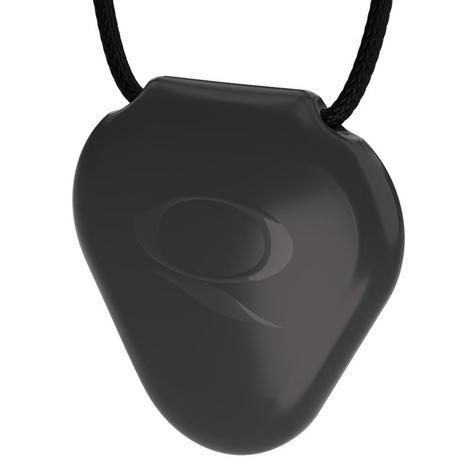 Q-Link SRT-3 Triangle Acrylic Pendant | Personal Energy System | Waterproof | Black Thumbnail 3