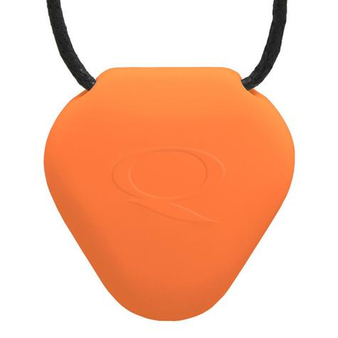 Q-Link  SRT-3 Waterproof Pendant|Well-Being Fitness Acrylic Triangle|Orange Thumbnail 2