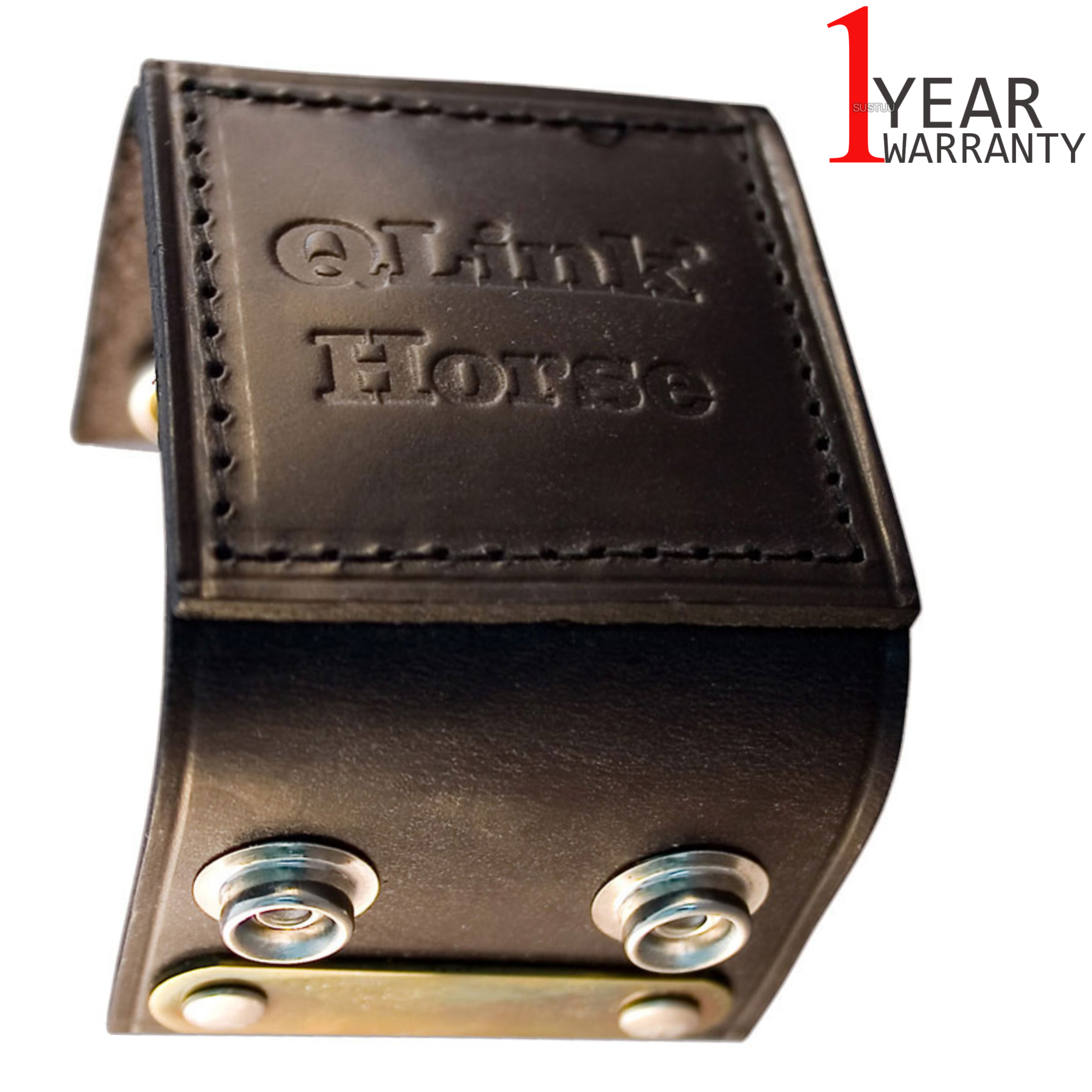 Q-Link SRT-3 Cuff for equines & Animal | Genuine Leather | Energy System | Robust/Lightweight