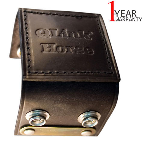 Q-Link SRT-3 Cuff for equines & Animal | Genuine Leather | Energy System | Robust/Lightweight Thumbnail 1