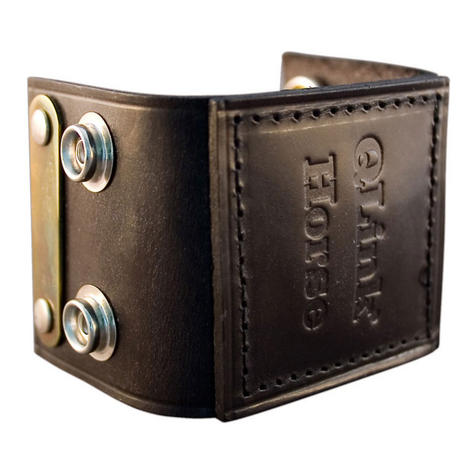 Q-Link SRT-3 Cuff for equines & Animal | Genuine Leather | Energy System | Robust/Lightweight Thumbnail 2