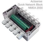 Actisense NMEA 2000 Quick Network Block|Breakout Box|6 Screw Terminal Drops
