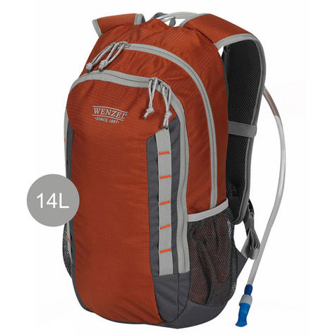 Wenzel Hydrator Hydration Rucksack Backpack- 14 Litres | Camping/ Hiking | Russet Thumbnail 1