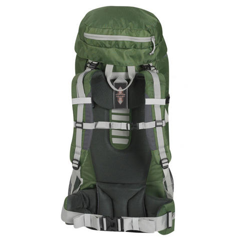Wenzel Escape Backpack - 50 Litres - Forest Green?Polyster Carry Bag for Travellers Thumbnail 2