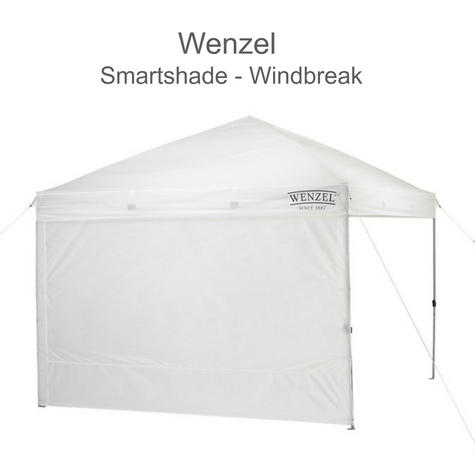 "Wenzel 33048 SmartShade Sun Screen/ Windbreak|10"" Wall for SmartShade
