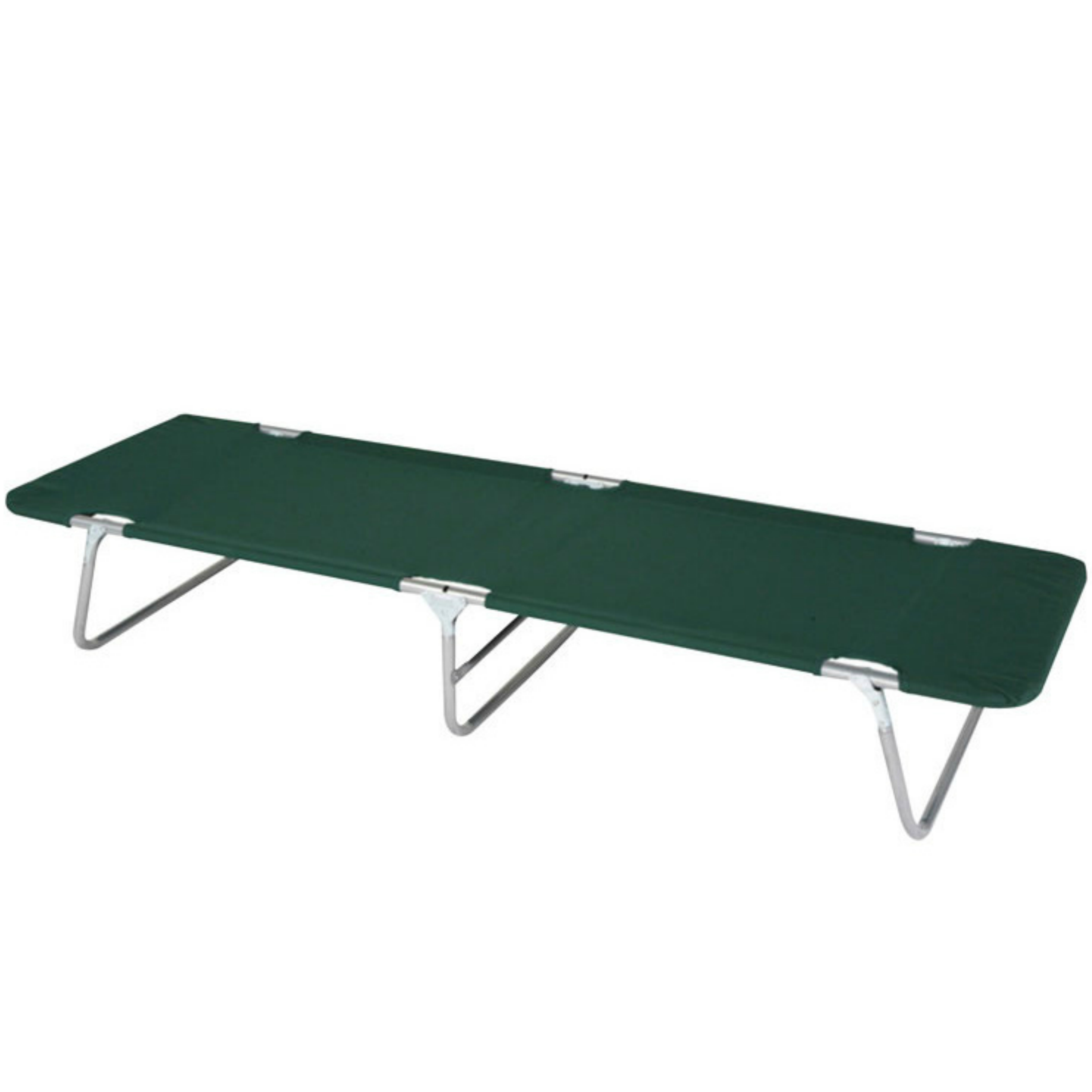 Wenzel-97928|Camp Cot-Green|Lightweight|Polyester|193x97x30.5 cm|Max Cap.113 Kg