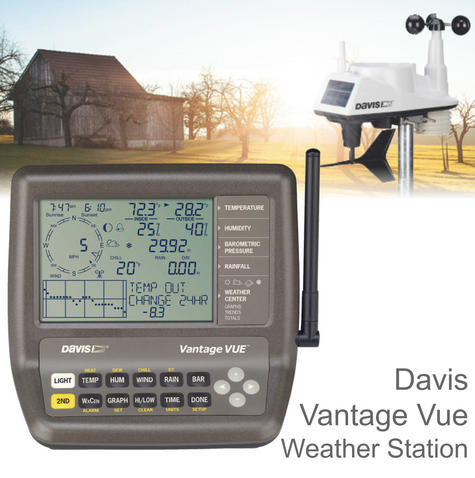Davis 6250 Vantage Vue Weather Station Instruments | Precision Wireless Long Range Thumbnail 1