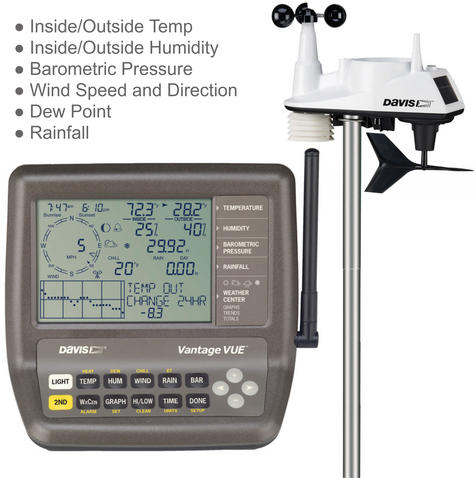Davis 6250 Vantage Vue Weather Station Instruments | Precision Wireless Long Range Thumbnail 2