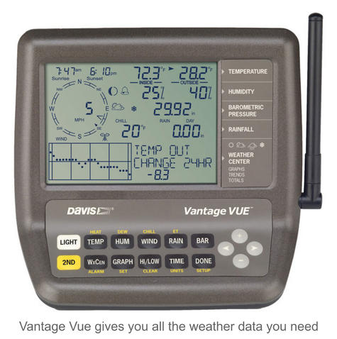 Davis 6250 Vantage Vue Weather Station Instruments | Precision Wireless Long Range Thumbnail 3