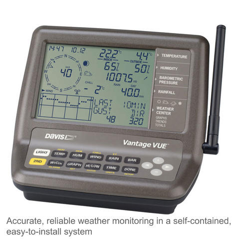 Davis 6250 Vantage Vue Weather Station Instruments | Precision Wireless Long Range Thumbnail 4