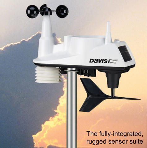 Davis 6250 Vantage Vue Weather Station Instruments | Precision Wireless Long Range Thumbnail 8