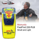 McMurdo PLB Fast Find 220 with GPS inc Buoyancy Pouch & Lanyard Small & Light