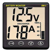 NASA Clipper BM1 Battery Monitor - 12 Volt with 5m Cable | For Boats & Marine