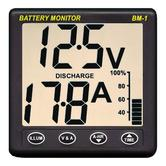 NASA Marine Clipper BM1-24 Battery Monitor - 24VDC + 5m Cable Included|For Boats
