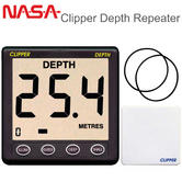 NASA Marine Clipper Depth Repeater Display with 5m Cable 10mA + 25Ma For Marine