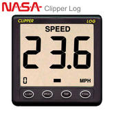 NASA Marine Clipper Log with Weather Cover & Paddlewheel Unit CLIP-LOG For Boats