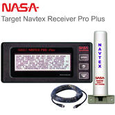 NASA Marine Navtex Target Receiver Pro Plus with Antenna & 7 metre Cable|12-15v