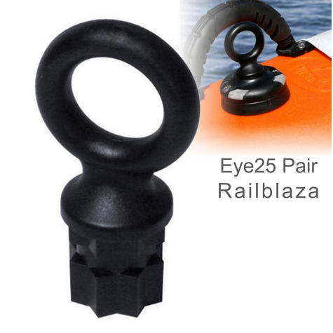 Railblaza Eye25 - Pair|For Kayaks & Boats Fishing Accessory|02-4003-11|Black Thumbnail 1