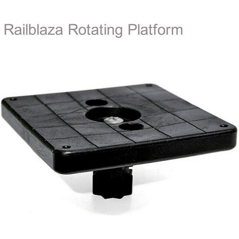 "Railblaza Platform Rotating 102mm Square - 4""|Turned 360°|Use for Kayak/Sailboats Thumbnail 1"