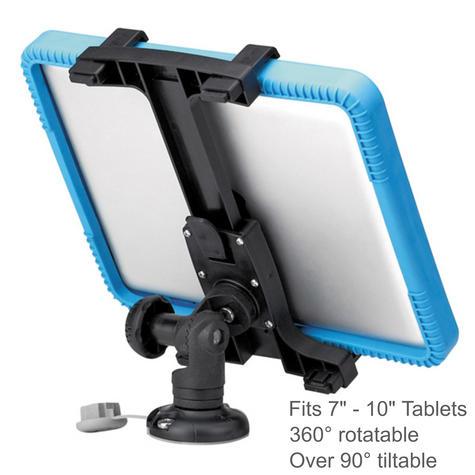 "Railblaza ScreenGrabba - Fits 7"" - 10"" iPad & Tablets Holder|02-4045-11|Black Thumbnail 2"