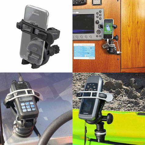 Railblaza Mobi Universal Mobile Device Holder | For Safe Mount Phone/GPS/VHF/EPIRB Thumbnail 3