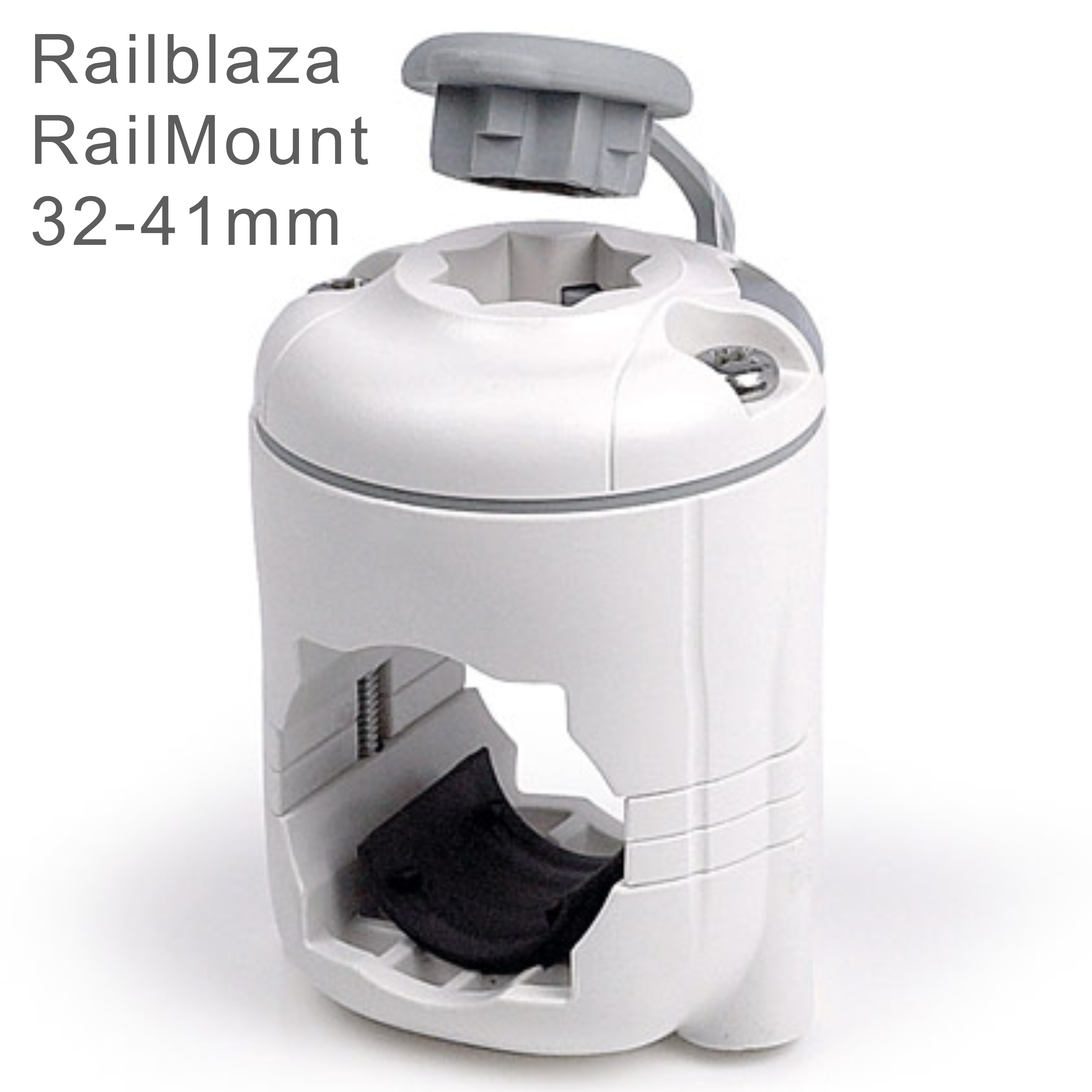 Railblaza RailMount StarPort Combo - 32-41mm|For Boat/ Rail & Kayak Mount|White