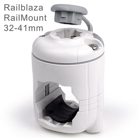 Railblaza RailMount StarPort Combo - 32-41mm|For Boat/ Rail & Kayak Mount|White Thumbnail 1