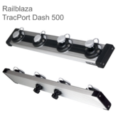 Railblaza TracPort Dash 500mm|4 StarPorts|Use Boats/ Marine Fishing Accessory