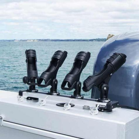 Railblaza 03410511|TracPort Dash 1000 - Silver|4 StarPort|For Mount|Kayak & Boats Thumbnail 3