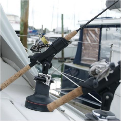 Railblaza Rod Holder II StarPort kit - Black Thumbnail 4