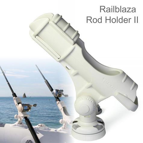Railblaza Rod Holder II StarPort Kit?Kayak & Fishing Accessory?04-4020-21?White Thumbnail 1