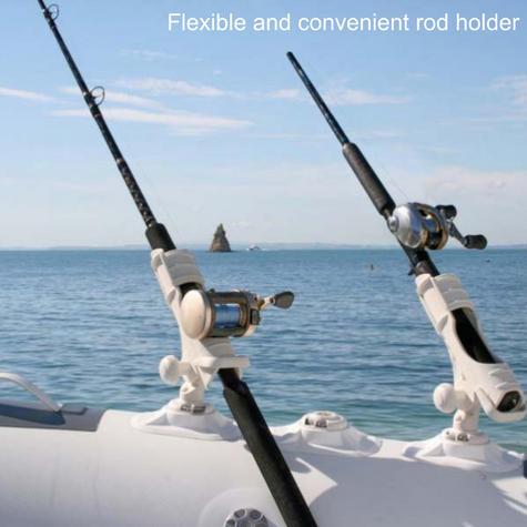 Railblaza Rod Holder II StarPort Kit?Kayak & Fishing Accessory?04-4020-21?White Thumbnail 2