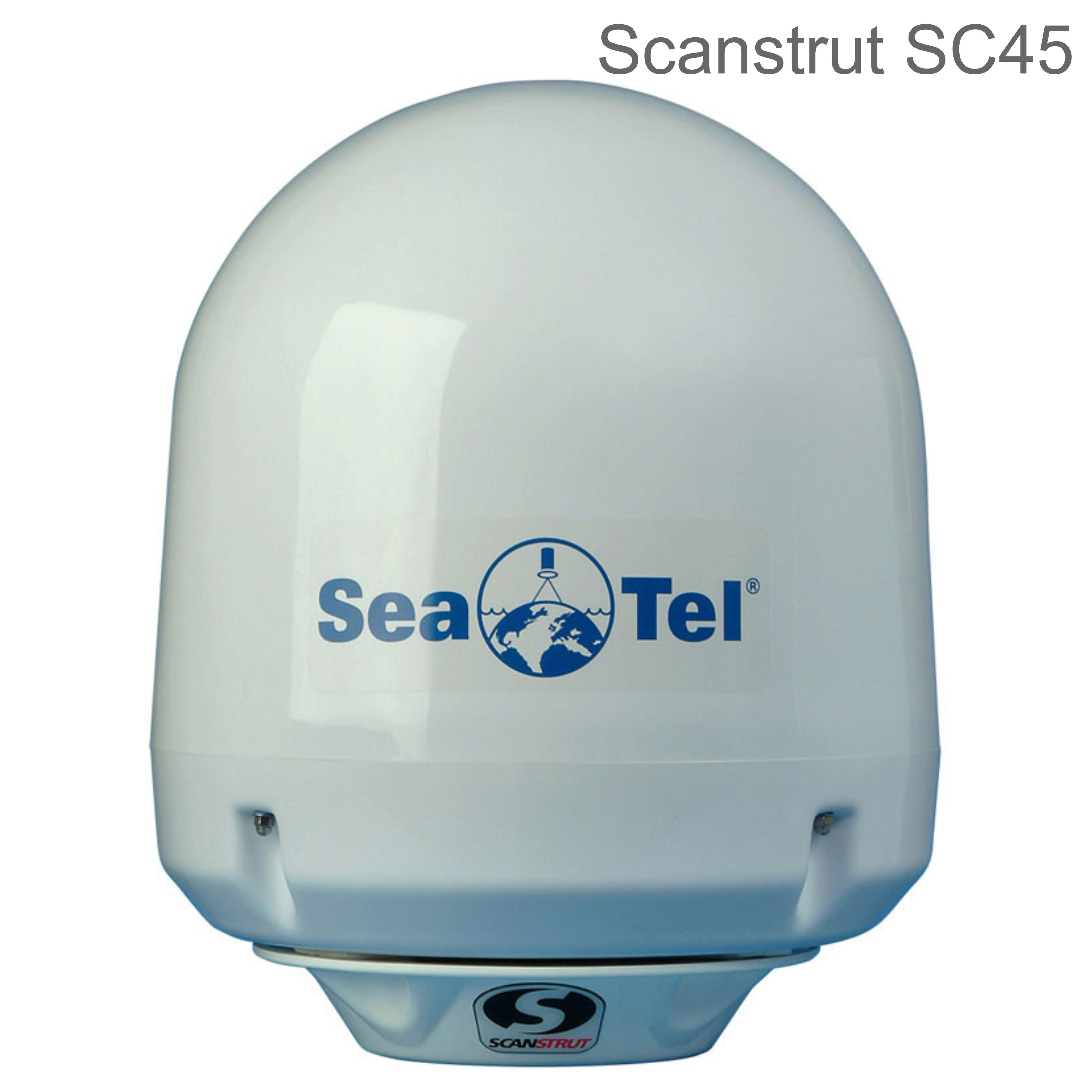 Scanstrut SC45 Antenna Mount inc.Base Seal | For KVH G4/ M5 & Seatel Coastal 18/24/30