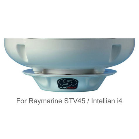 Scanstrut SC45R Satcom Mount for Raymarine STV45 Intellian i4 Satcom/TV Antennas Thumbnail 2