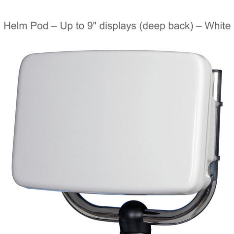 "Scanstrut SPH-8D ScanPod Helm Pod | For 8""-15"" Displays 