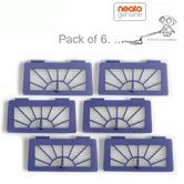 Neato XV Series High Performance Filters/Pads For Robot Vacuum Cleaner Pack of 6
