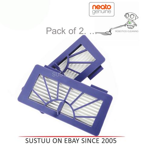 Neato XV Series High Performance Filters/Pads|For Robot Vacuum Cleaner|Pack of 2 Thumbnail 1