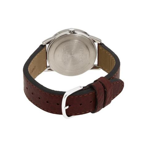 Timex T20041 Mens Leather Strap Analouge Wrist Watch|White Dial|Brown|Day-Date| Thumbnail 2
