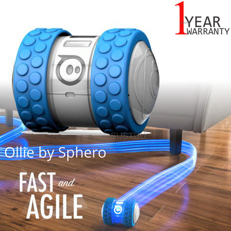 Ollie by Sphero App Controlled Bluetooth Robot Toy|1B01RW1|For iPhone & Android Thumbnail 1