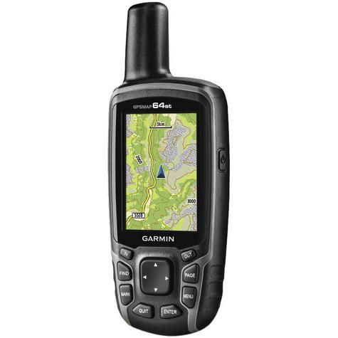 Garmin GPSMAP 64st|Handheld GPS-GLONASS Navigator|Compass|Preloaded Europe Maps Thumbnail 2